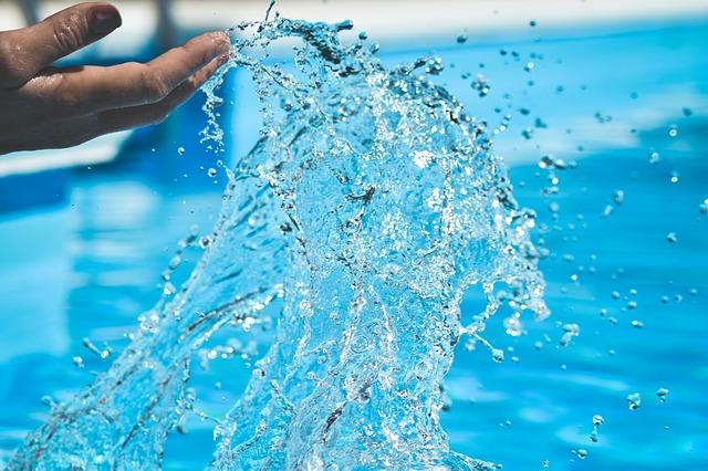 cákání vody