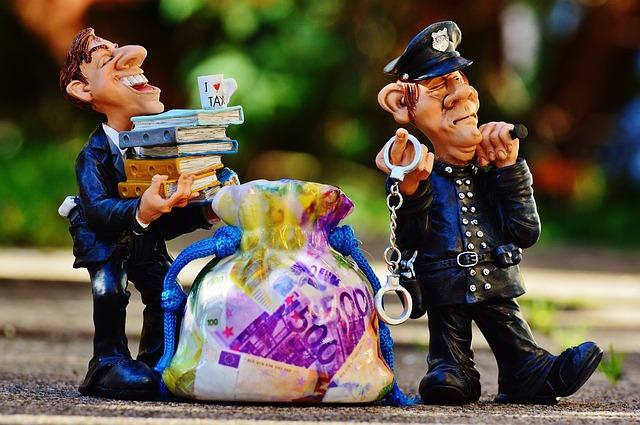 daňové úniky a policie